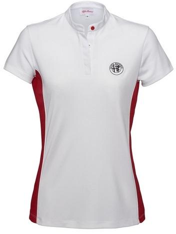 Originální dámské tričko Alfa Romeo (Luxusní triko s límečkem Alfa Romeo)