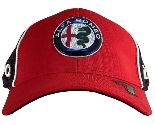 Alfa Romeo Kimi Raikkönen (Čepice Alfa Romeo Kimi Raikkönen)