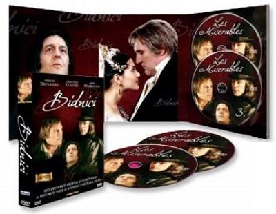 Kompletní kolekce Bídníci (DVD kolekce Bídníci)