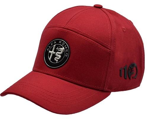 Čepice Alfa Romeo Limited červená (Originální čepice Alfa Romeo)