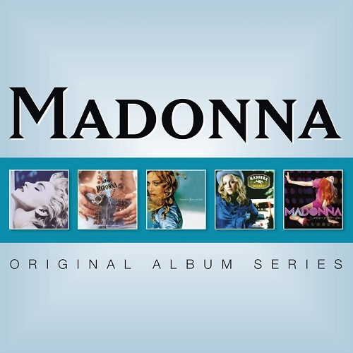 Madonna Original Album Series