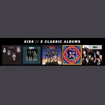 Kiss 5 Classic Albums