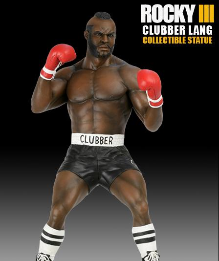 Rocky Clubber Lang Statue