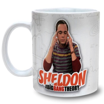 Big Bang Theory Sheldon hrnek