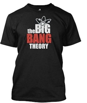 Big Bang Theory tričko