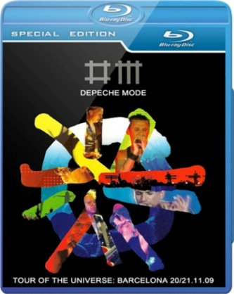 Depeche Mode Tour Of The Universe Deluxe BluRay