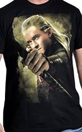 The Hobbit tričko Legolas