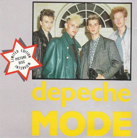 Depeche Mode Interview Picture Disc